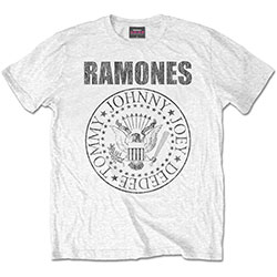 Ramones Unisex Tee: Presidential Seal (XX-Large Only)