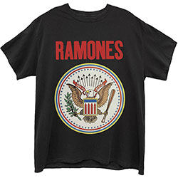 Ramones Unisex Tee: Full Colour Seal