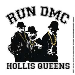 Run DMC Single Cork Coaster: Hollis Queens
