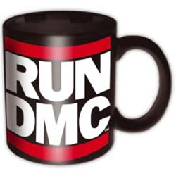 Run DMC Boxed Standard Mug: Logo Black