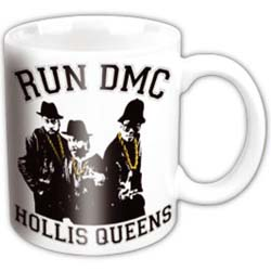 Run DMC Boxed Standard Mug: Hollis Queens Pose Black