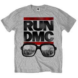 Run DMC Men's Tee: Glasses NYC