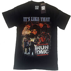Run DMC Unisex Tee: It's Like That Homage