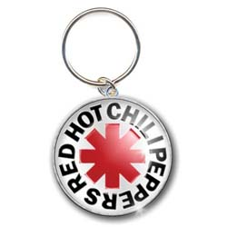 Red Hot Chili Peppers Standard Keychain: Asterisk Logo