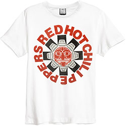 Red Hot Chili Peppers Unisex Tee: Aztec