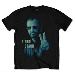 Ringo Starr Unisex Tee: Colour Peace