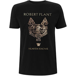 Robert Plant Unisex Tee: Heaven Knows