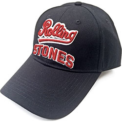 The Rolling Stones Baseball Cap: Team Logo