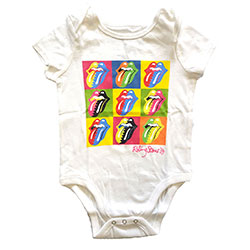 The Rolling Stones Kids Baby Grow: Two-Tone Tongues