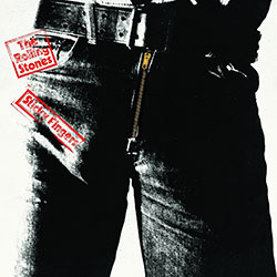 The Rolling Stones Greetings Card: Sticky Fingers