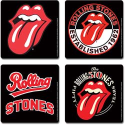 The Rolling Stones Coaster Set: Icons