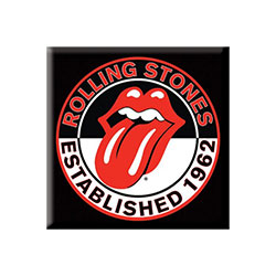 The Rolling Stones Fridge Magnet: Est. 1962 (2 inch)