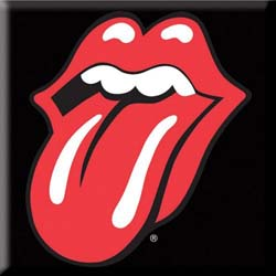 The Rolling Stones Fridge Magnet: Classic Tongue