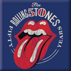The Rolling Stones Fridge Magnet: 50th Anniversary Vintage