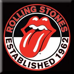 The Rolling Stones Fridge Magnet: Est. 1962