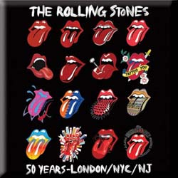 The Rolling Stones Fridge Magnet: Tongue Evolution