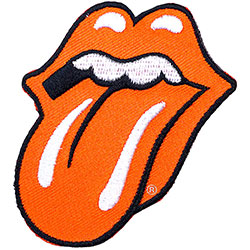 The Rolling Stones Standard Patch: Classic Tongue (Loose Embroidered Patch)
