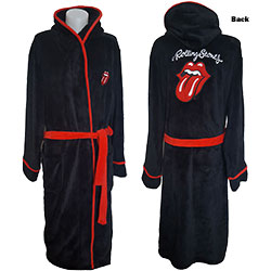 The Rolling Stones Unisex Bathrobe: Classic Tongue