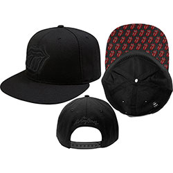 The Rolling Stones Men's Baseball Cap: Classic Tongue (Snap Back)