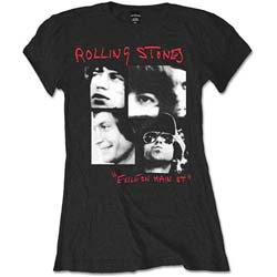 The Rolling Stones Ladies Tee: Photo Exile