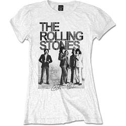 The Rolling Stones Ladies Tee: Est. 1962 Group Photo