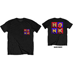 The Rolling Stones Unisex Tee: Honk Album F&B (Back Print)