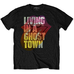 The Rolling Stones Unisex Tee: Ghost Town