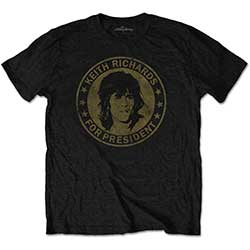 The Rolling Stones Kid's Tee: Keith for President (Retail Pack)
