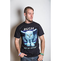Rush Unisex Tee: Fly by Night