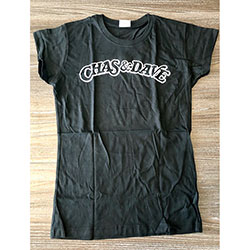 Chas & Dave Unisex Tee: Rockney Label (Ex Tour) (Small)