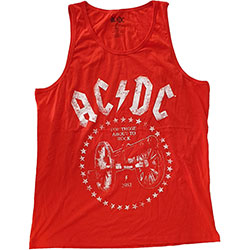 AC/DC Unisex Tee Vest: For Those About to Rock