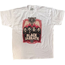 Black Sabbath Unisex Tee: Faces (X-Large)