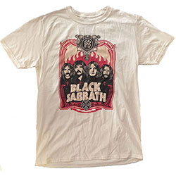 Black Sabbath Unisex Tee: Faces