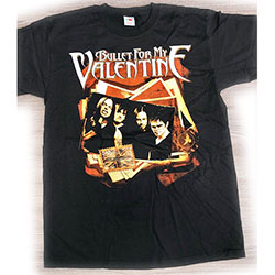 Bullet For My Valentine Men's Tee: Photo Stack (Ex Tour) (Large)