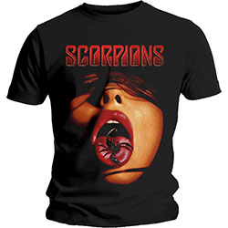 Scorpions Unisex Tee: Scorpion Tongue