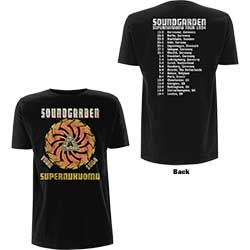 Soundgarden Unisex Tee: Superunknown Tour '94 (Back Print)