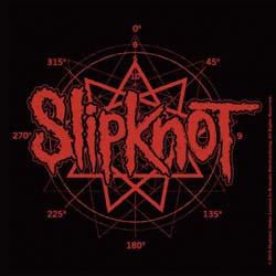 Slipknot Single Cork Coaster: Logo