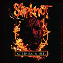 Slipknot Single Cork Coaster: Antennas