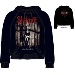 Slipknot Unisex Pullover Hoodie: .5 The Gray Chapter (Back Print)