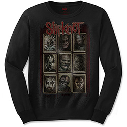Slipknot Unisex Long Sleeved Tee: New Mass