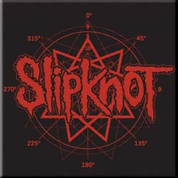 Slipknot Fridge Magnet: Logo