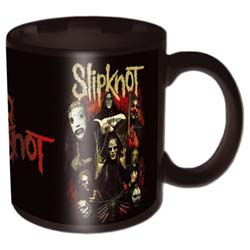 Slipknot Boxed Standard Mug: Come Play Dying Black
