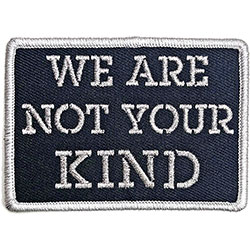 Slipknot Standard Patch: We Are Not Your Kind Stencil