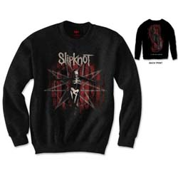 Slipknot Unisex Sweatshirt: .5: The Gray Chapter (Back Print)