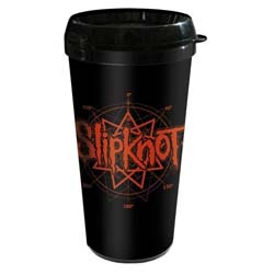 Slipknot Travel Mug: Logo (Plastic Body)