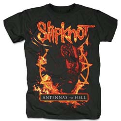 Slipknot Unisex Tee: Antennas to Hell