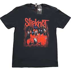 Slipknot Unisex Tee: Band Frame