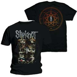 Slipknot Men's Tee: Creatures (Back Print)