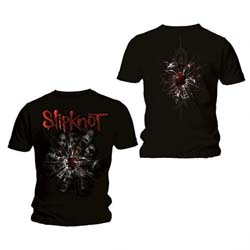 Slipknot Unisex Tee: Shattered (Back Print)