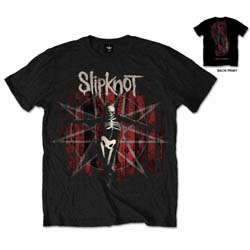 Slipknot Unisex Tee: .5 The Gray Chapter (Back Print)